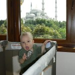 Blue Mosque from Alzer Hotel Penthouse Suite Istanbul