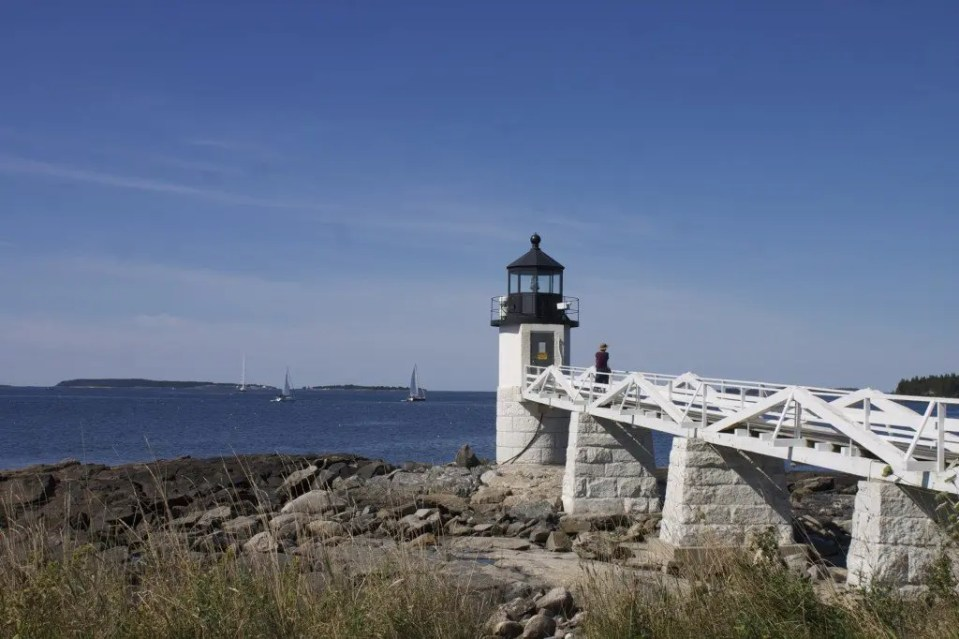 Marshall Point Light in Maine