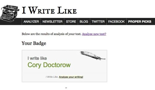 IWL Doctorow