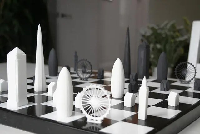 Architecture Chess Set