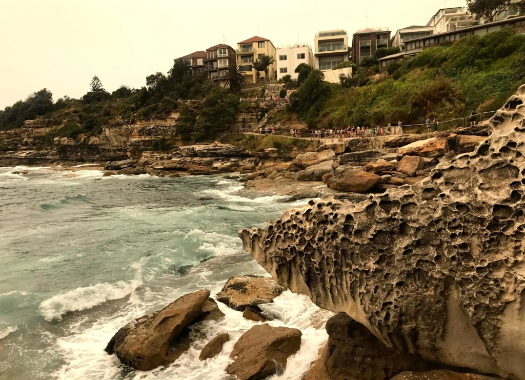 Bondi to Bronte walking path and cliffs