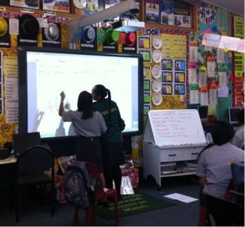 Students learning at Ferguson Intermediate School