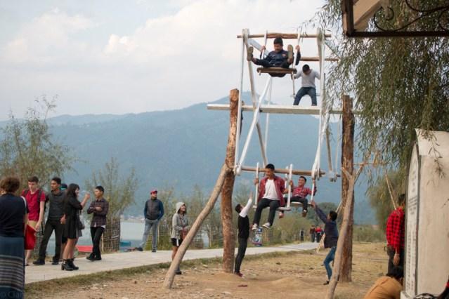 © Clara.Go-Plastic and Cartoons a Lekshedh Tsal - Jampaling Tibetan settlement