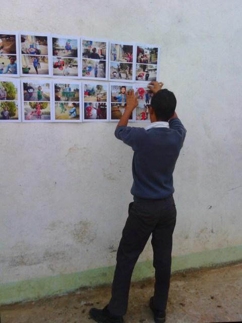 esposició a © Clara.Go-Plastic and Cartoons a Lekshedh Tsal - Jampaling Tibetan settlement