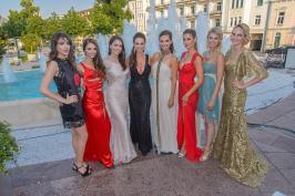 Miss Austria Wahl 2015 - Finale, Casino Baden, Baden bei Wien, 2.7.2015, 8 Ex-Miss-Austrias Gruppenfoto