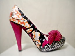 Sara Coulibaly chaussures-Wax-2