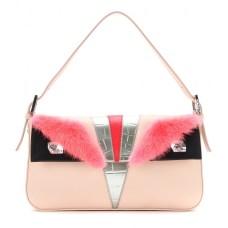 P00096312-Bag-Bugs-leather-and-mink-fur-Baguette-shoulder-bag-STANDARD