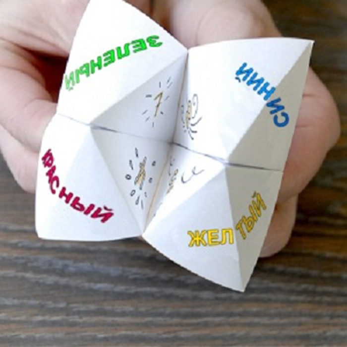 How to make a Cootie Catcher Step by Step Instructions - Red Ted ... | 700x700