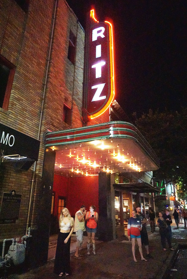 6th Street Austin Texas Alamo Drafthouse The Ritz