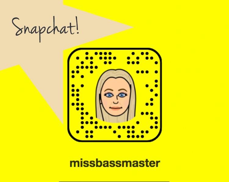 MissBassmaster Snapchat