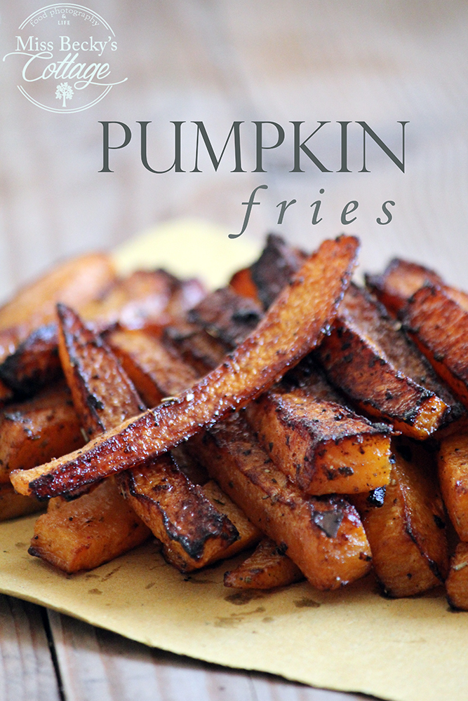 spicy pumpkin fries baked