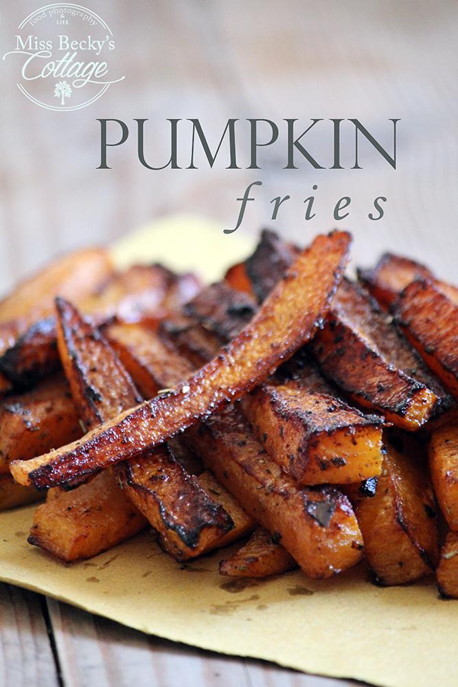 spicy pumpkin fries baked