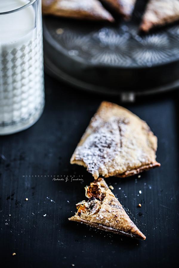 chocolate mandarine cointreau turnover 3