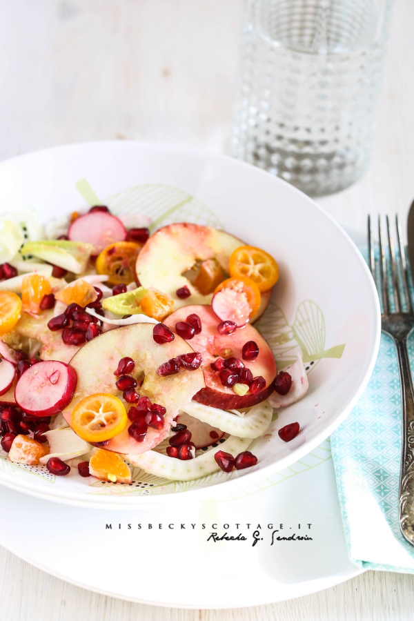 salad detox citrus apple fennel