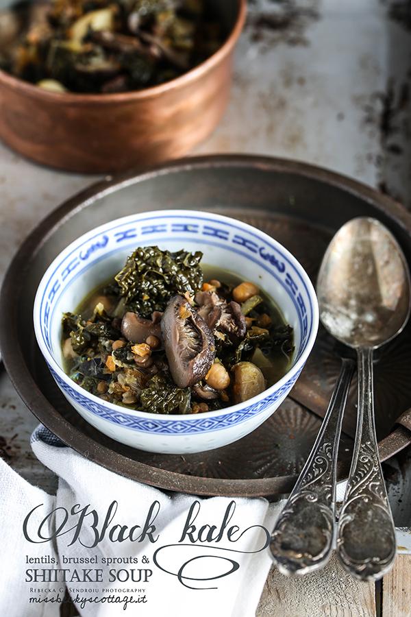 shiitake tuscan kale soup