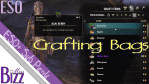 ESO Crafting Bags
