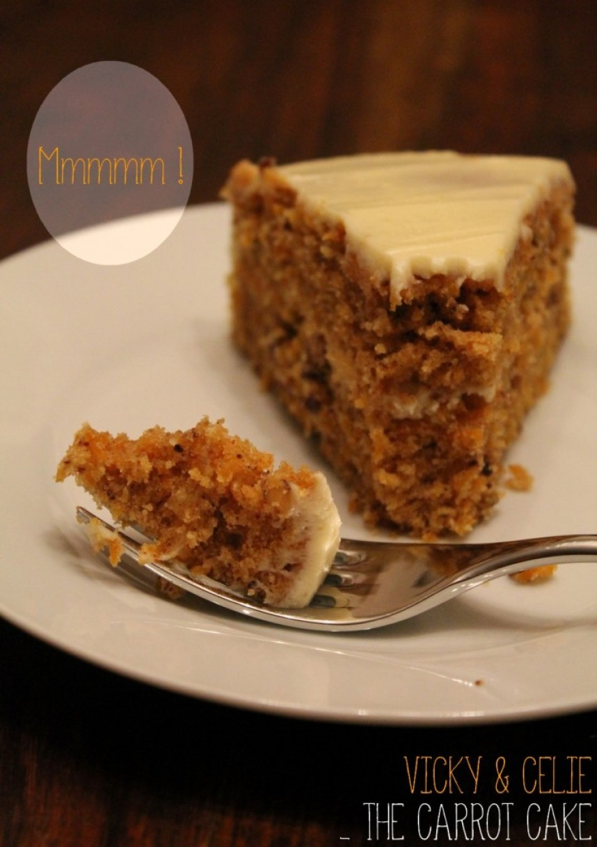 Carrot Cake - Voyage - Recette - Canada - Miss Blemish
