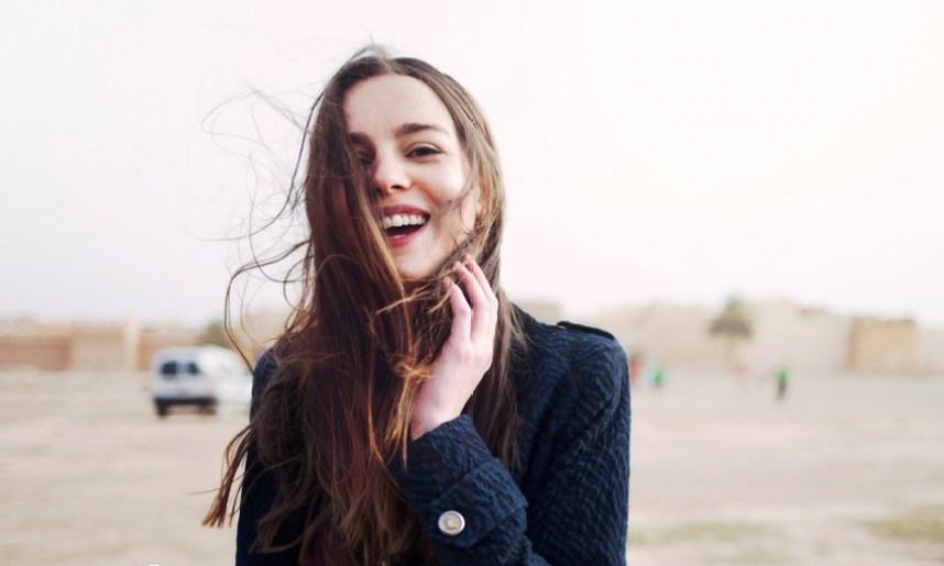 les sourires de la semaine - Miss Blemish - source Sezane