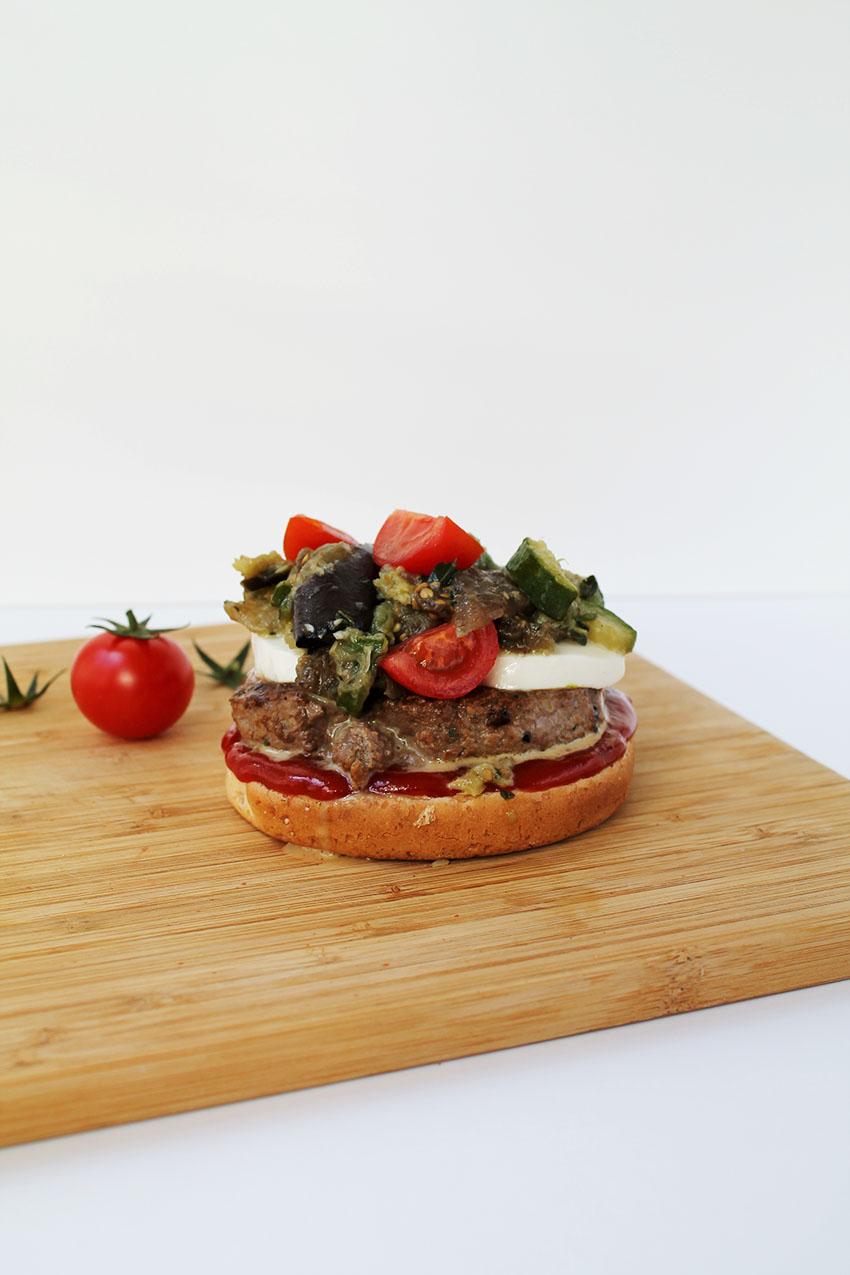 Burger à l'italienne 2 bis
