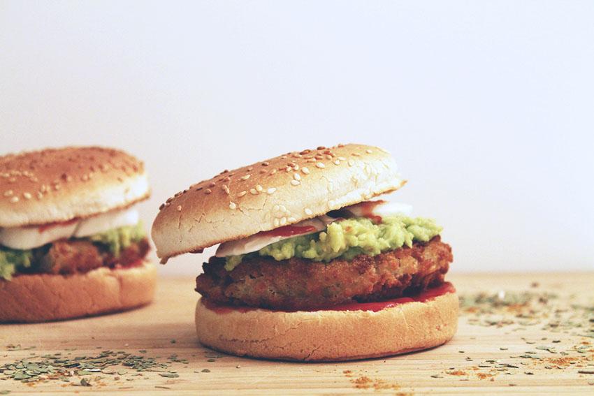 Le burger avec du guacamole dedans - Recette - Cuisine - Miss Blemish