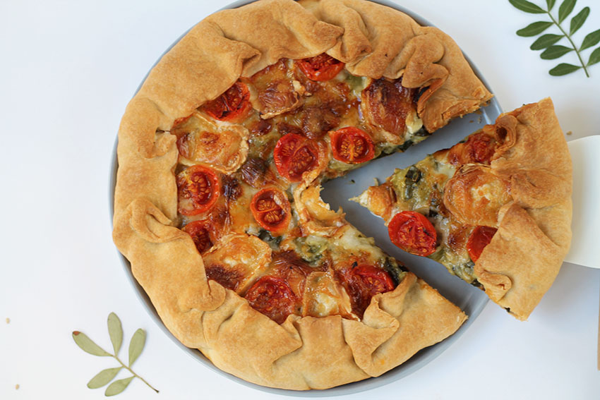 Tarte salée courgette chèvre façon pizza - Cuisine - Miss Blemish