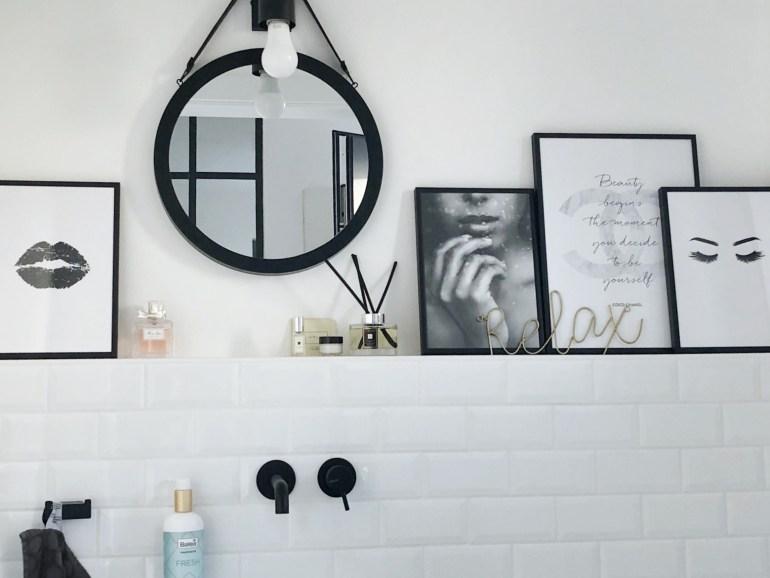 Bilder im Gäste WC