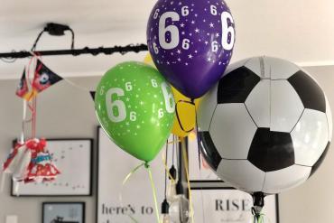 #Baby // Fussballgeburtstagsparty zum Kindergeburtstag
