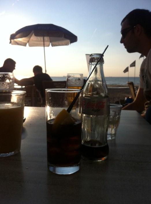 De Golfslag Aussicht von der Terrasse