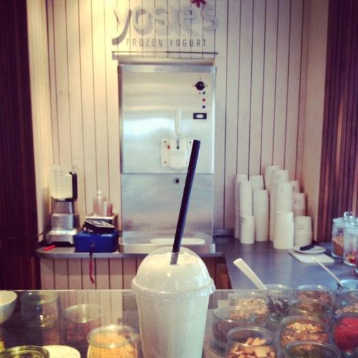 Yosies Frozen yogurt Bonn