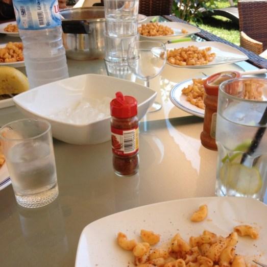 Albufeira Algarve Portugal Finca Ferienhaus mittagessen
