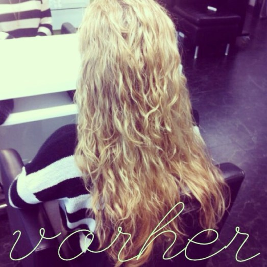 Hagemann Hair & Beauty Haarmodel Azubine Anne Haare glatt Flechtfrisur Wasserfall