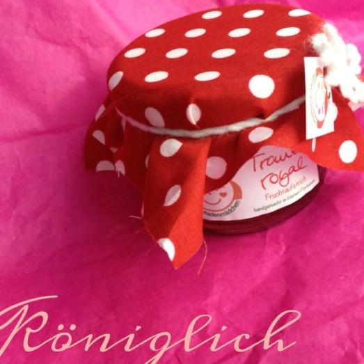 Marmeladenmädchen Test Marmelade Traube Royal