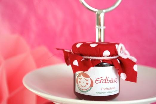 Marmeladenmädchen Test Marmelade hausgemacht selbstgemacht Versand Online Shop Erdbeere
