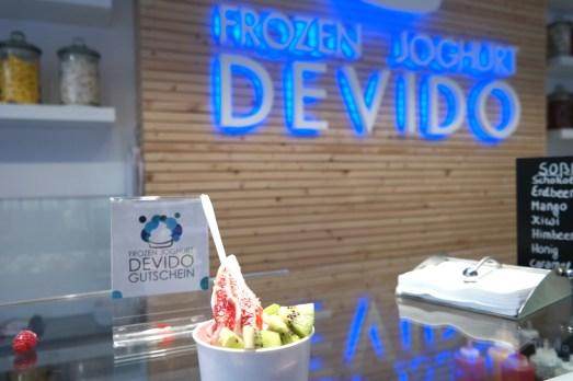Aachen Citytrip Wochenende Shopping Samstag Frozen Yogurt Pontstraße Devido