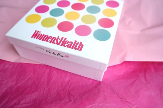 Pink Box März Womens Health Newsha Rezension Mary Kay Dove Hormocanta
