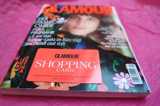 Glamour Shopping week Card Bonn MissBonneBonne Shopping Rabatte Aktionen April 2014