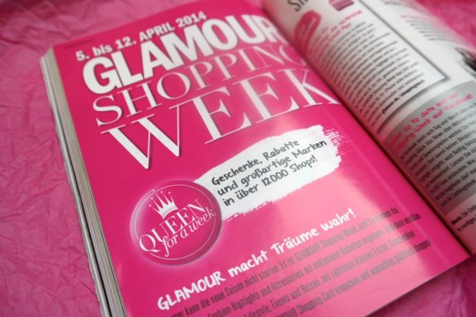 Glamour Shopping week Card Bonn MissBonneBonne Shopping Rabatte Aktionen April 2014