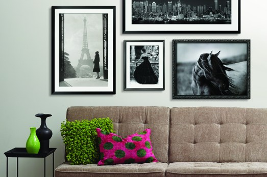 Bilderwand Bonn Blog Interieur Lifestyle schwarz weiß