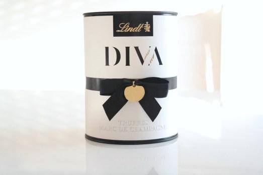 Lindt Schokolade Diva Kollektion Trüffel Geschenk edles Überraschung Köstlichkeit Pralinen schöne Verpackung