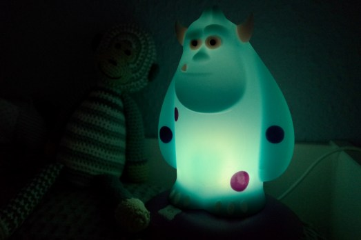 Philips Sulley Monsterlampe Nachtlicht Monster Kinderzimmer Angst Fakten