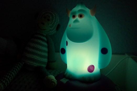 Philips Sulley Monsterlampe Nachtlicht Monster Kinderzimmer Angst Fakten