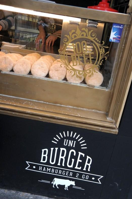 Uniburger Bonn Burger Restaurant Innenstadt Hamburger Pommes