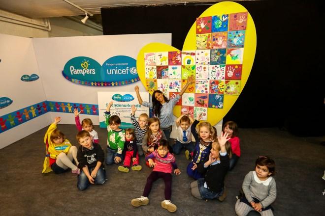 """Pampers für UNICEF Presseevent """"Hand in Hand in ein gesundes Le"""