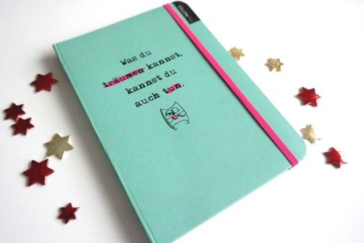 Wihnachtsgeschenk Notizbuch mynotes