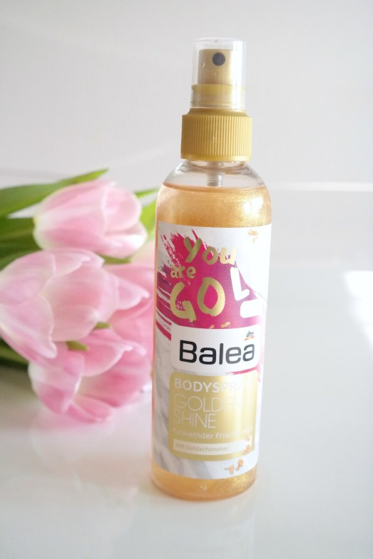 Geschenkidee Ostern Osternest Beauty Kosmetik Balea Limited Edition Schimmerspray