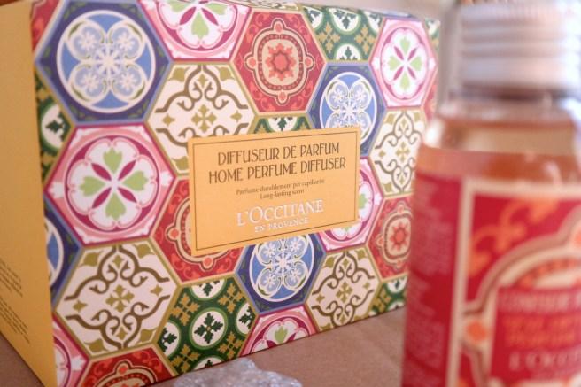 LOccitaine Raumduft mit stäbchen gewinnspiel beautyblog weihnachtsgeschenk geschenkidee geschenkset
