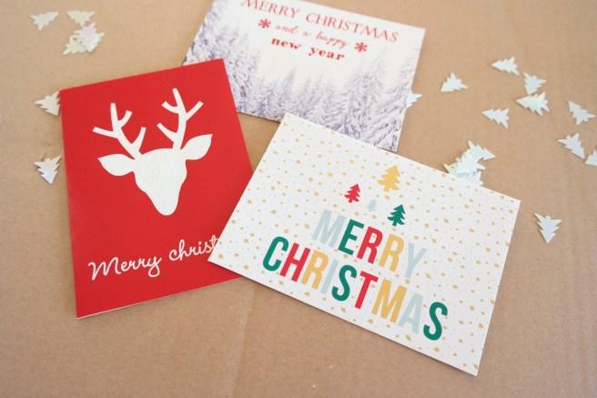 Weihnachtspost geh rt einfach dazu missbonn e bonn e - Weihnachtskarten kreativ ...