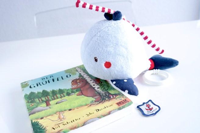 Mamablog schönes Kinderbuch Spieluhr schöne Musik Grüffelo Walfisch Schlafengehen