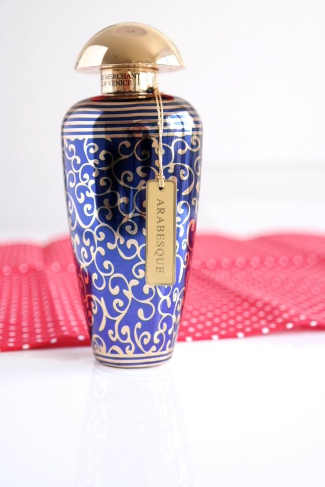 Missbonnebonne Beautyblog Lieblingsprodukte Geschenkidee hochwertiges Luxus Parfum Merchants of Venice Arabesque