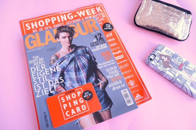 Glamour Shopping Week 2016 Vorteile Blog Lifestyleblog Bonn welche Partner oktober april